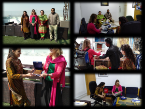 Dr Sheryl(USA) Visit Iqra Univeristy with ORIC