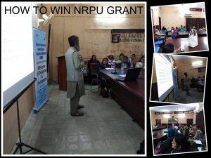 How to Win NRPU Grant