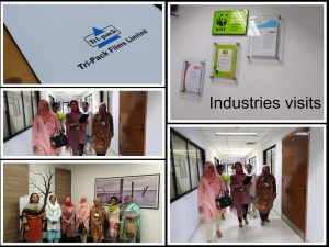 Industrial Visit  Archroma & Tri-Pack, Films Limited